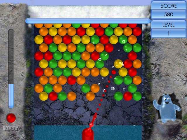 Flash games net online 1985 bubble shooter
