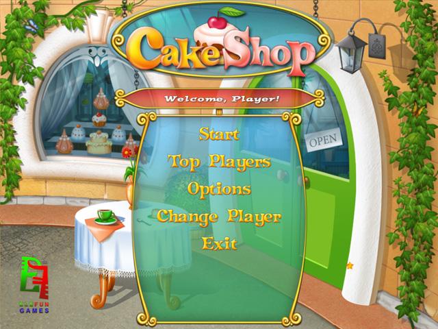 Elefun Games Cake Shop