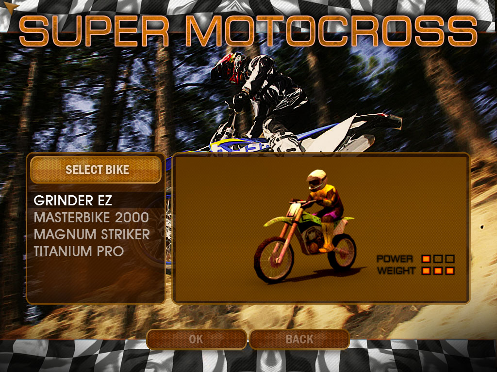 Game Balap Super MotoCross