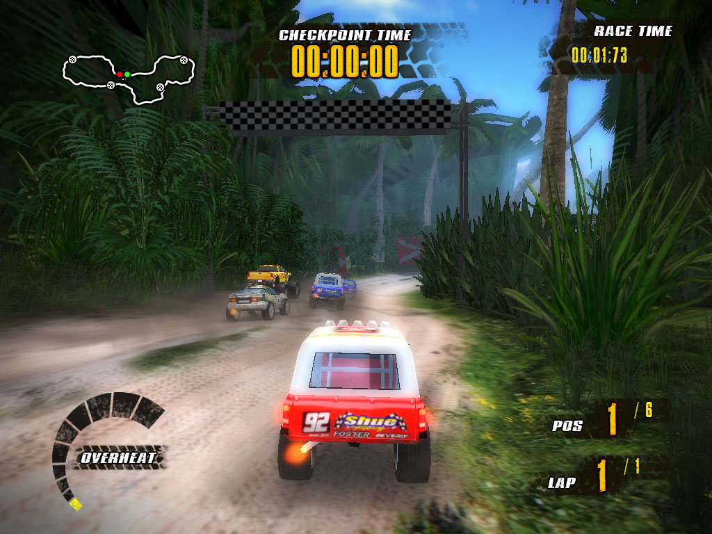 Jungle Racers v1.1 Full Oyun