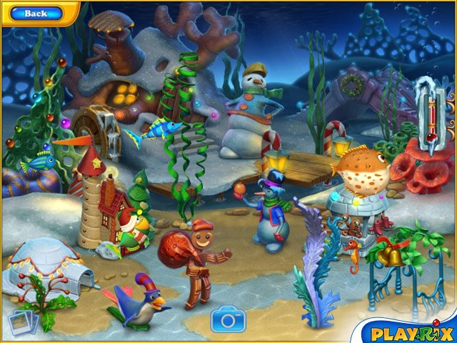 Game Giveaway Of The Day Fishdom Frosty Splash