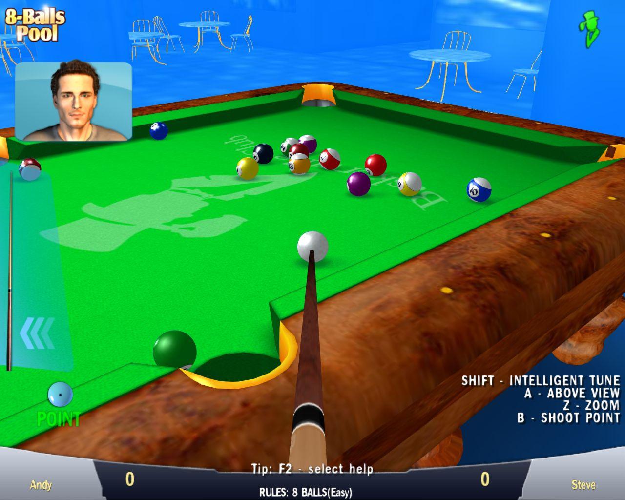 Pool Games 8 Ball