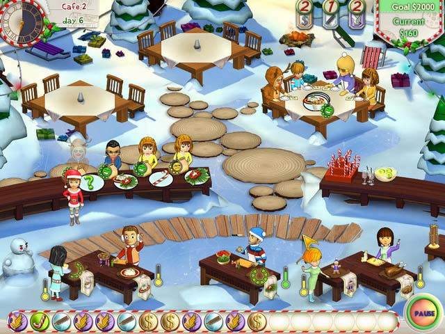 Amelie's Cafe: Holiday Spirit - 艾米丽的咖啡店:节日气氛丨反斗限免